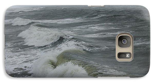 Galaxy Case featuring the photograph Waves  by Deborah DeLaBarre