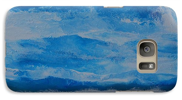 Galaxy Case featuring the painting Waves by Linda Bailey