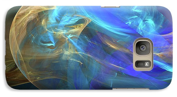 Galaxy Case featuring the digital art Waves Of Grace by Margie Chapman