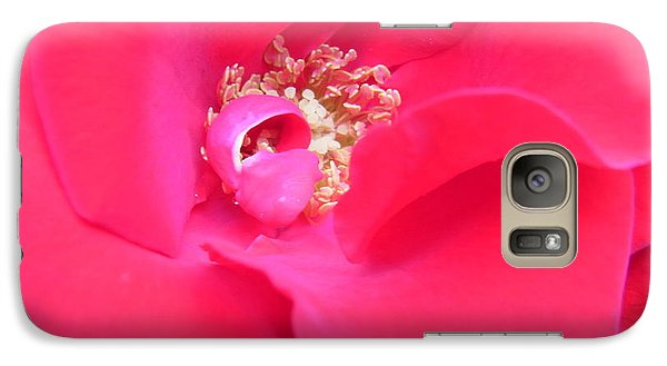 Galaxy Case featuring the photograph Waves Of Passion by Agnieszka Ledwon