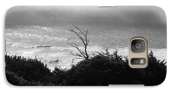 Galaxy Case featuring the photograph Waves Upon The Land by Tarey Potter