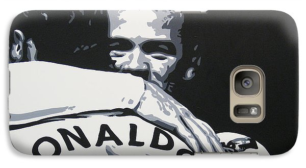 Wayne Rooney And Ronaldo - Manchester United Fc Galaxy S7 Case