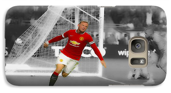 Wayne Rooney Scores Again Galaxy S7 Case