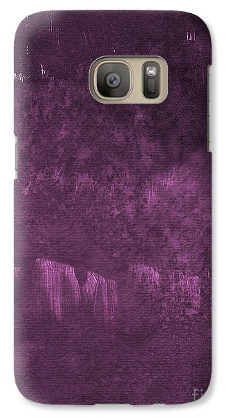 Orchid Galaxy S7 Case - We Are Royal by Linda Woods