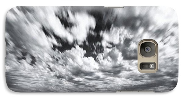 Galaxy S7 Case - We Have Had Lots Of High Clouds And by Larry Marshall