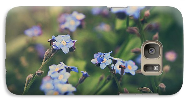 Garden Galaxy S7 Case - We Lay With The Flowers by Laurie Search