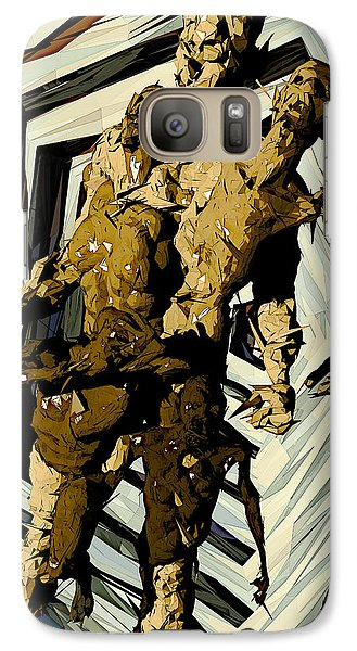 Galaxy Case featuring the digital art we by Matt Lindley