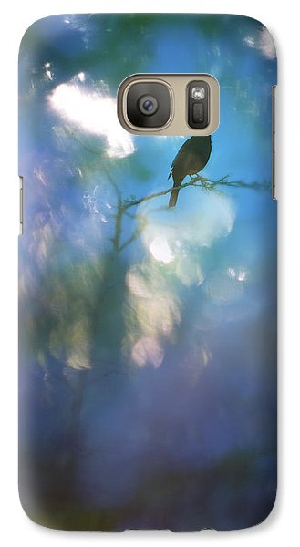 Galaxy Case featuring the photograph Weather To Fly  by Richard Piper