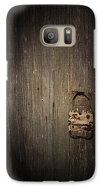 Galaxy Case featuring the photograph Weathered by Cynthia Lassiter