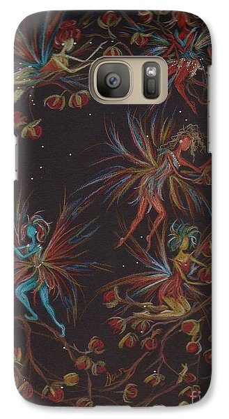 Galaxy Case featuring the drawing Weaving The Bittersweet by Dawn Fairies