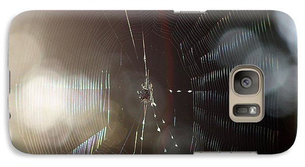 Galaxy Case featuring the photograph Web Of Flares by Greg Allore