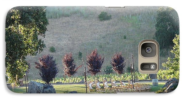 Galaxy Case featuring the photograph Wedding Grounds by Shawn Marlow