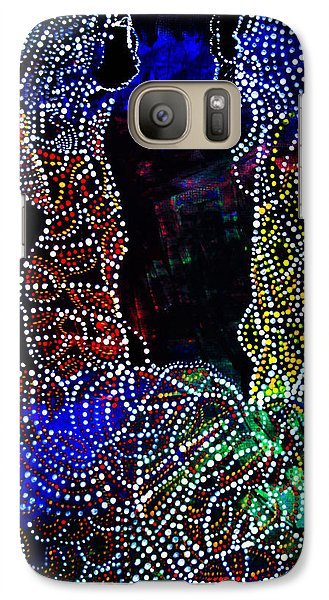 Galaxy Case featuring the painting Wedding In Cana by Gloria Ssali