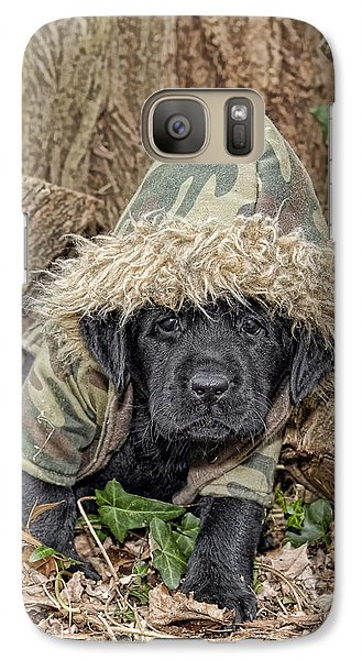 Galaxy Case featuring the photograph Wee Hunter by Sami Martin