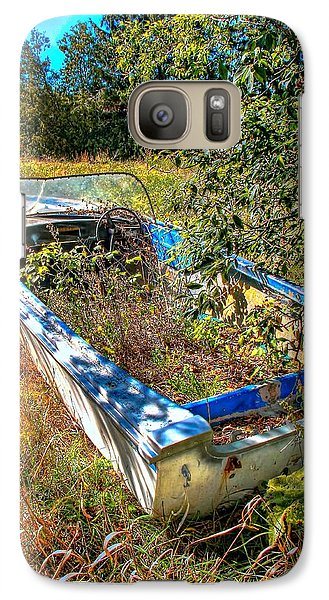 Galaxy Case featuring the photograph Weed Boat by Michaela Preston