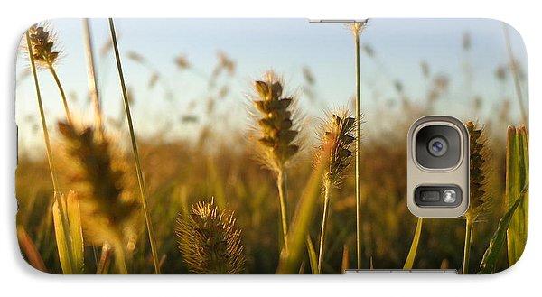 Galaxy Case featuring the photograph Weeds by Joseph Skompski