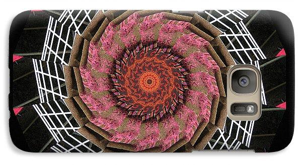 Galaxy Case featuring the digital art Weeepaint by Barbara MacPhail