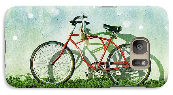 Bicycle Galaxy S7 Case - Weekender Special by Laura Fasulo