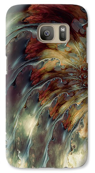 Galaxy Case featuring the digital art Weep by Kim Redd