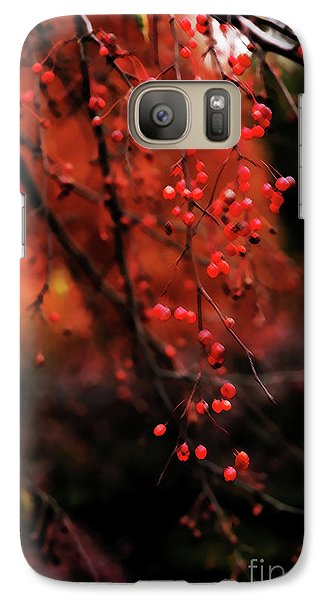 Galaxy Case featuring the photograph Weeping by Linda Shafer