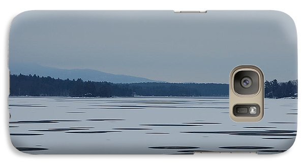 Galaxy Case featuring the photograph Weirs Beach Nh Almost by Mim White