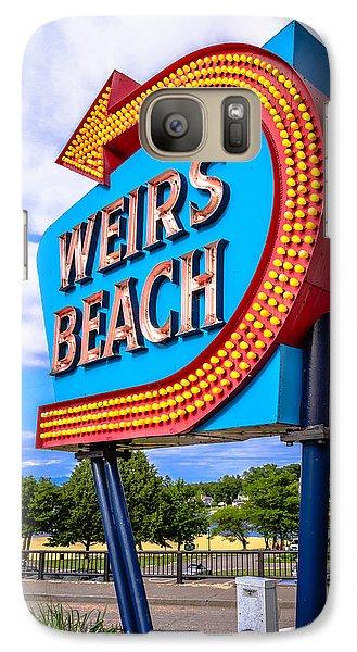 Weirs Beach Galaxy S7 Case