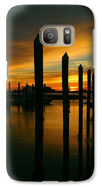 Galaxy Case featuring the photograph Welcome Sun by Phil Mancuso