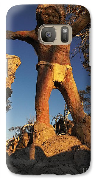 Galaxy Case featuring the photograph Welcome by Janice Westerberg