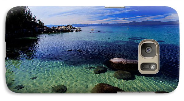 Galaxy Case featuring the photograph Welcome To Bliss Beach by Sean Sarsfield