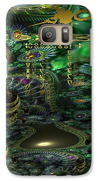 Galaxy Case featuring the photograph Welcome To Cosmic City by Robert Kernodle