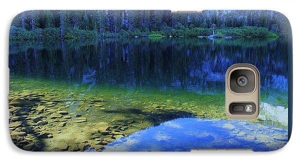Galaxy Case featuring the photograph Welcome To Eagle Lake by Sean Sarsfield
