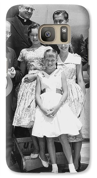 Welk And The Lennon Sisters Galaxy S7 Case by Underwood Archives