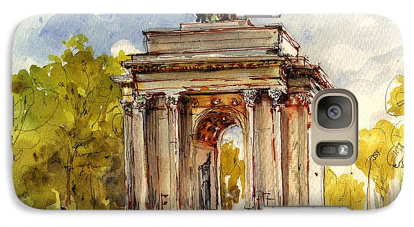 Hyde Park Galaxy S7 Case - Wellington Arch by Juan  Bosco
