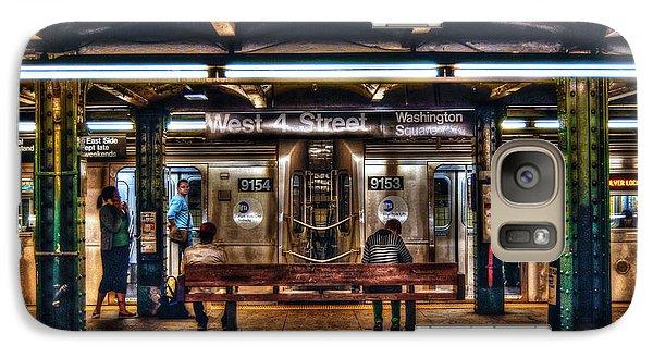 West 4th Street Subway Galaxy S7 Case