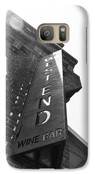 Galaxy Case featuring the photograph West End by Wade Brooks