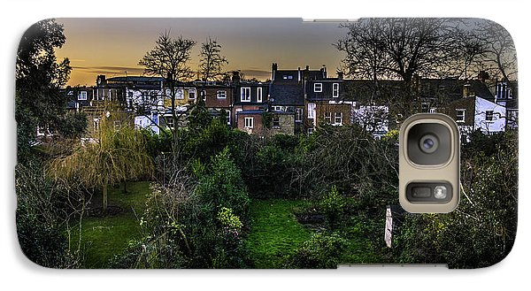 Galaxy Case featuring the photograph West Hampstead Sunset by Rob Tullis