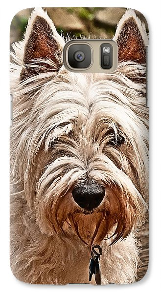 Galaxy Case featuring the photograph West Highland White Terrier by Robert L Jackson