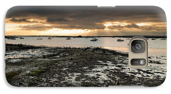 Galaxy Case featuring the photograph West Mersea View by David Isaacson