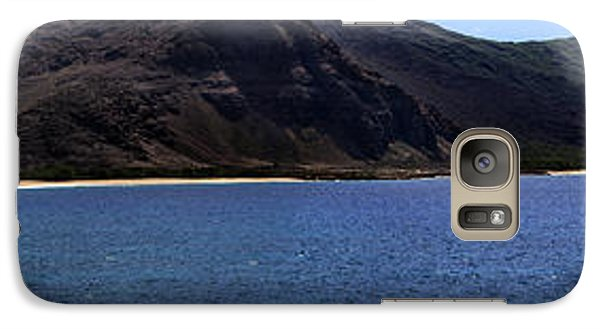 Galaxy Case featuring the photograph West Oahu Panorama by Rob Tullis