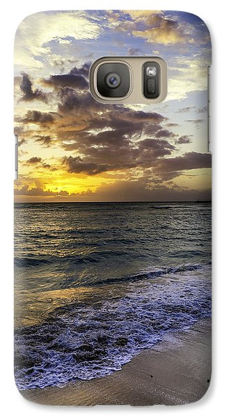 Galaxy Case featuring the photograph West Oahu Sunset by Rob Tullis