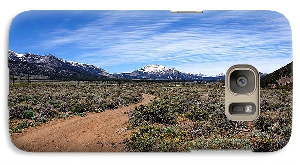 Galaxy Case featuring the photograph West Of The Sierra Nevada  by Thomas Bomstad