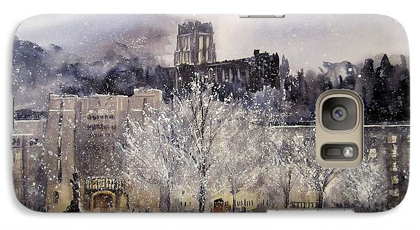 West Point Winter Galaxy S7 Case by Sandra Strohschein