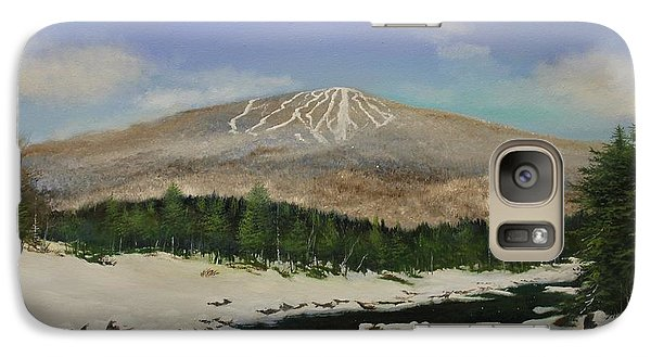 Galaxy Case featuring the painting West River Bromley View by Ken Ahlering