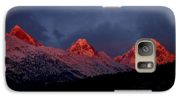 West Side Teton Sunset Galaxy S7 Case