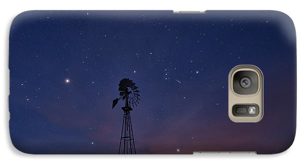 West Texas Sky Galaxy S7 Case by Melany Sarafis