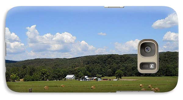 Galaxy Case featuring the photograph West Virginia Farm by Dorothy Maier