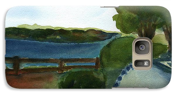 Galaxy Case featuring the painting West Virginia View  by Frank Bright