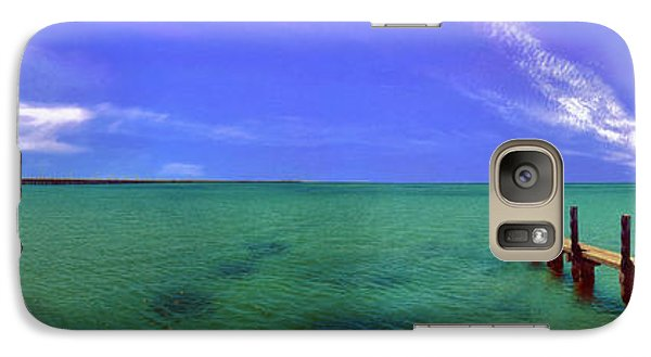 Galaxy Case featuring the photograph Western Australia Busselton Jetty by David Zanzinger
