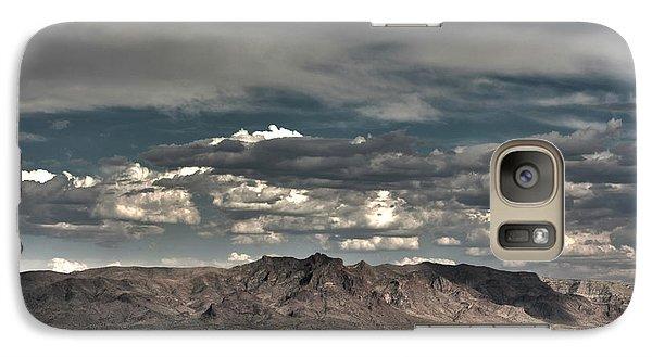 Galaxy Case featuring the digital art Western by Bruce Rolff