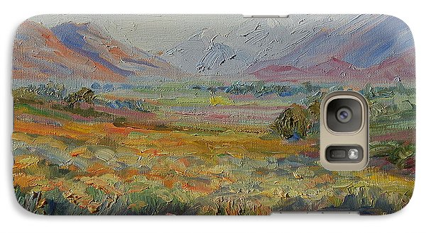 Galaxy Case featuring the painting Western Cape Mountains by Thomas Bertram POOLE